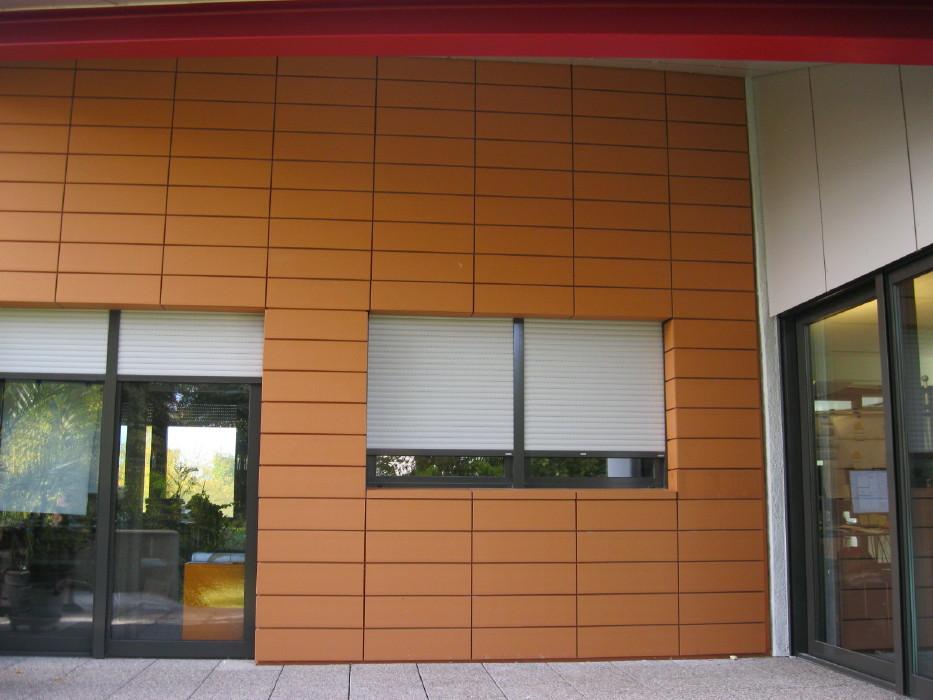 Ziegel - Fassade - Nedo Metallbau GmbH - München, Dachau ...