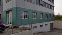 Brain Products / Gilching - Fertigstellung Fensteranschlüsse - Vorher