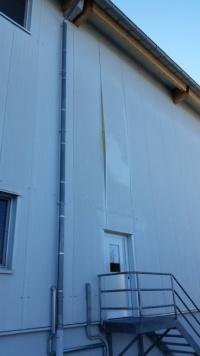 Frischpack - Fassadenschaden - Vorher