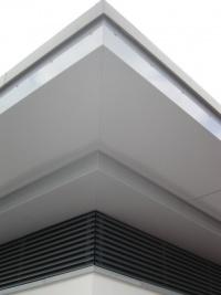 Grünwald - 2 teilige Dachuntersicht mit Lamellen