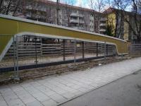 Pöllathstrasse München - Lochblechfassade