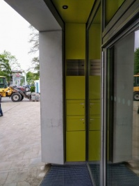 Pöllatstrasse - Decke + Briefkasten
